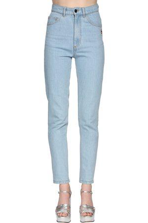 Marc Jacobs Jeans Vita Alta In Denim Di Cotone