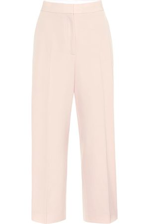 Stella McCartney Pantaloni in lana a vita alta