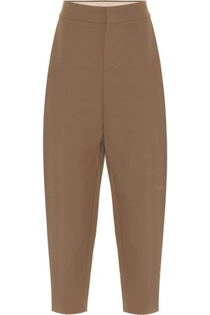 Chloé Pantaloni in misto lana stretch