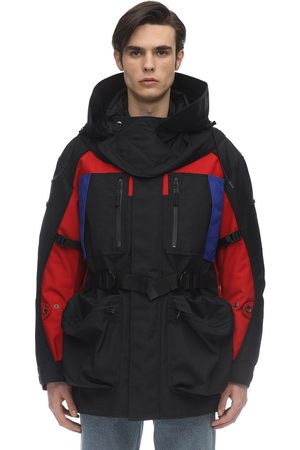 Burberry Parka In Nylon Con Cappuccio E Zip