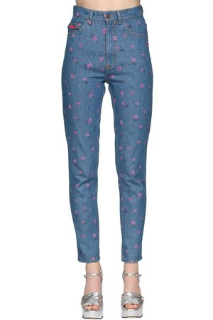 MARC JACOBS Jeans Vita Alta In Di Cotone
