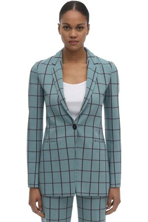 M Missoni Giacca In Cady Check