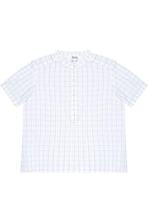 BONPOINT Camicia in cotone a quadri