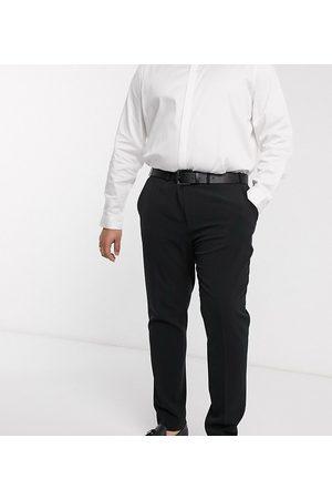 ASOS DESIGN Uomo Chinos - Plus - Pantaloni eleganti super skinny neri