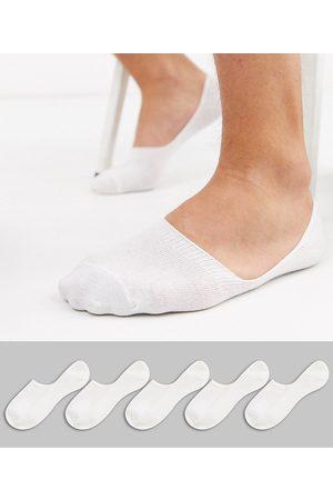 New Look Confezione da 5 paia di fantasmini bianchi