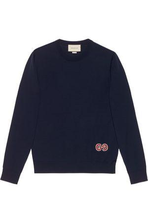 Gucci Maglione in lana con GG