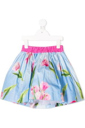 Monnalisa Bambina Gonne - Minigonna a fiori - Di colore