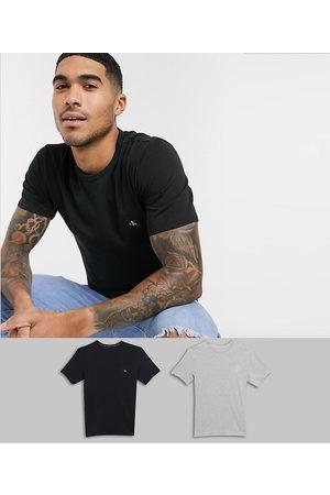 Calvin Klein CK One - Confezione da 2 T-shirt girocollo da casa con logo