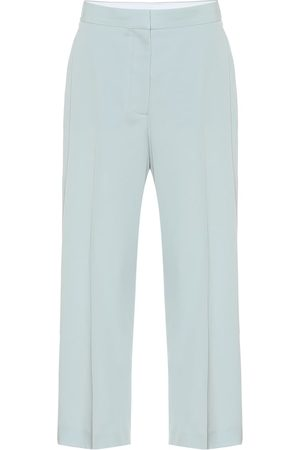 Stella McCartney Pantaloni in cotone stretch