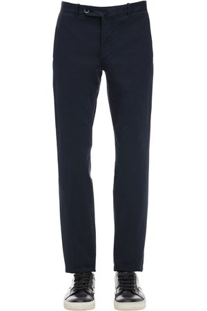 GTA Pantaloni In Gabardina Di Cotone Stretch