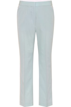 Stella McCartney Pantaloni in lana stretch