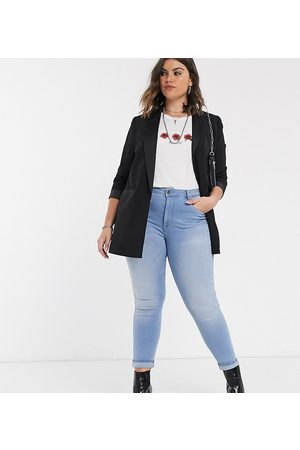 Only Jeans skinny lavaggio chiaro