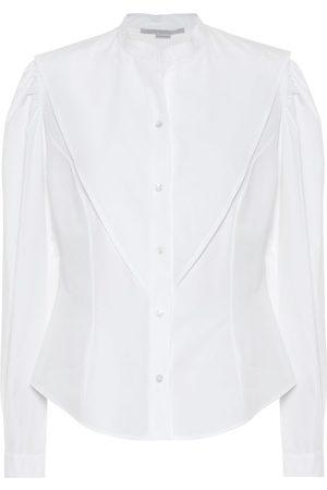 Stella McCartney Camicia in popeline di cotone