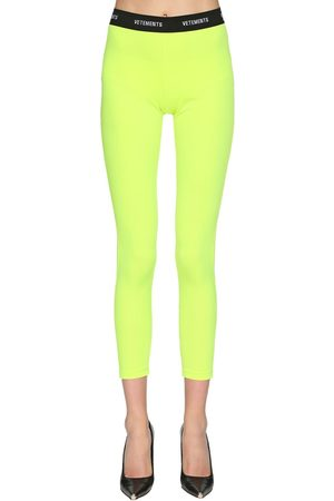 Vetements Leggings In Lycra Con Logo
