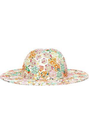 BONPOINT Cappello a stampa floreale in cotone