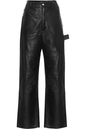 UNRAVEL Pantaloni in pelle
