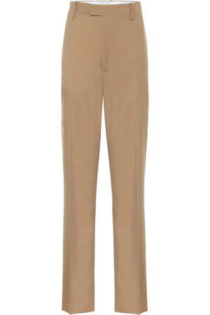 Bottega Veneta Pantaloni a vita alta in lana