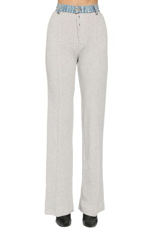 UNRAVEL Pantaloni In Spugna E Denim