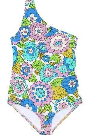 DODO BAR OR Costume monospalla a stampa floreale