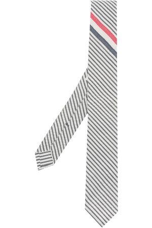 Thom Browne Cravatta con dettaglio RWB