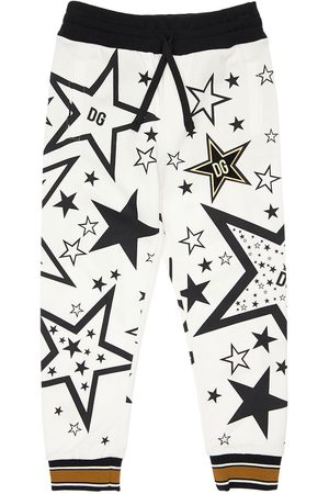 Dolce & Gabbana Pantaloni In Felpa Di Cotone