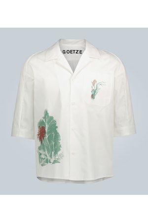 GOETZE Camicia di cotone stampato