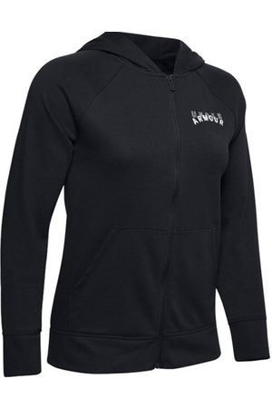Under Armour Donna Hoodies - Rival Terry Fz Hoodie - giacca con cappuccio - donna
