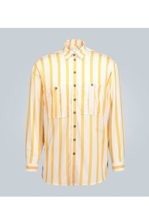 King and Tuckfield Camicia oversize a righe