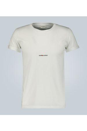 Saint Laurent T-shirt in cotone con logo