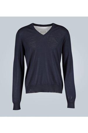 Maison Margiela Pullover con camicia integrata