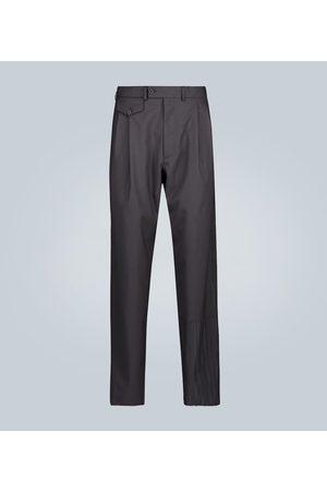 Rochas Pantaloni con pince in lana