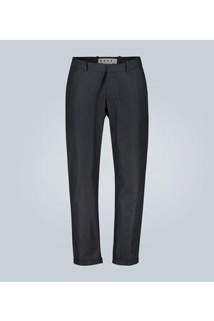 Marni Pantaloni in twill di cotone