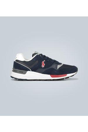 Polo Ralph Lauren Sneaker di pelle e suede