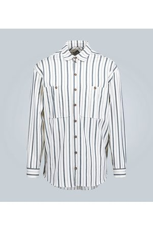 King and Tuckfield Camicia oversize in cotone