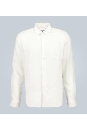 Vilebrequin Camicia Caroubis in lino
