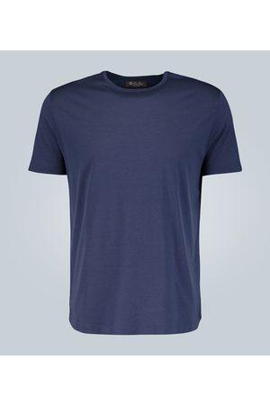 Loro Piana T-shirt in misto cotone e seta