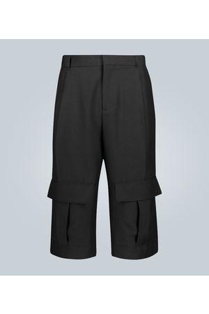 Loewe Shorts cargo in lana