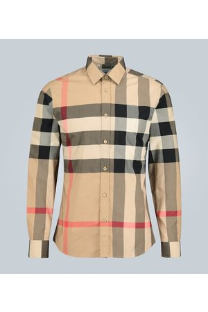 Burberry Camicia in cotone stretch