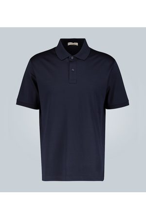Bottega Veneta Polo in piqué di cotone