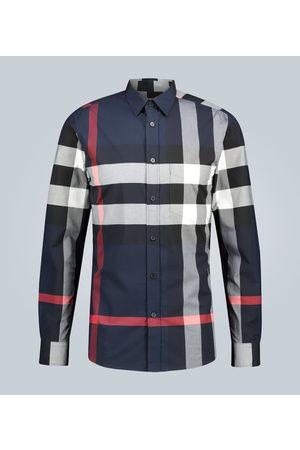 Burberry Camicia in cotone stretch
