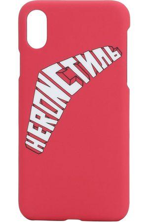 Heron Preston Cover Iphone X/xs Con Stampa Logo
