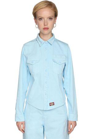 Marc Jacobs Camicia In Denim Di Cotone