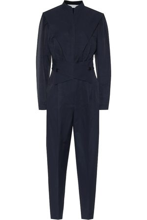 Stella McCartney Jumpsuit in misto cotone e lino