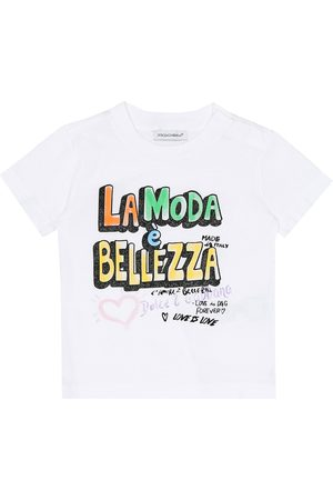 Dolce & Gabbana Baby - T-shirt a stampa in cotone