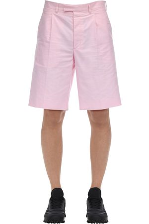 Prada Shorts In Cotone Oxford