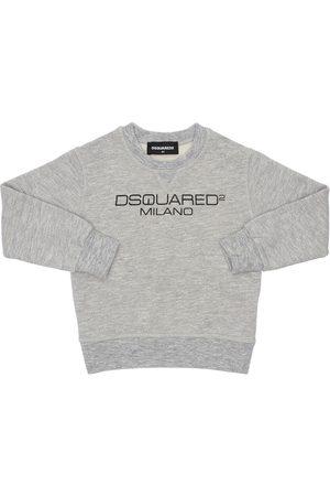Dsquared2 Felpa In Cotone Con Logo