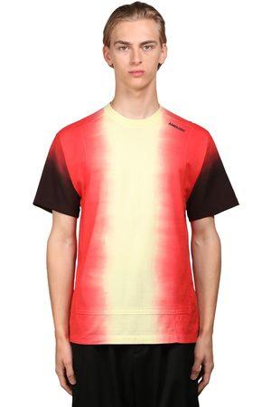AMBUSH Uomo T-shirt - T-shirt In Jersey Di Cotone Tie Dye Con Logo