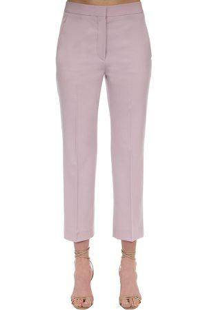 Stella McCartney Pantaloni In Lana Stretch
