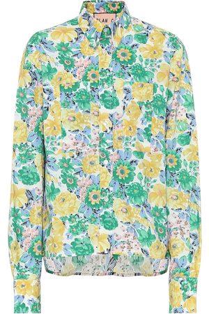 Plan C Camicia a stampa floreale in cotone