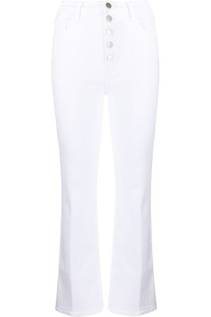 J Brand Pantaloni crop svasati